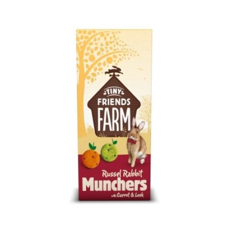 TFF RUSSEL RABBIT MUNCHERS 120G