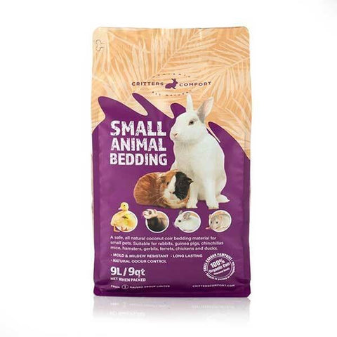 CRITTERS COMFORT SMALL ANIMAL BEDDING 9L
