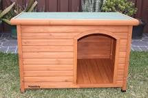 KENNEL - FLAT ROOF SMALL 85X63X56CM