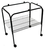 STAND SUITS FLIGHT CAGE 61X41CM WHITE