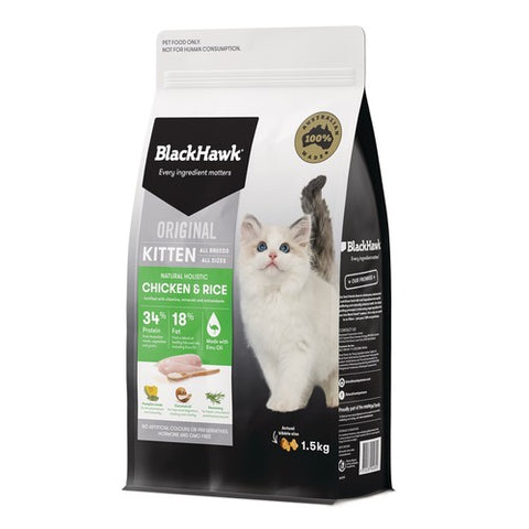 BH KITTEN CHICKEN & RICE 1.5KG