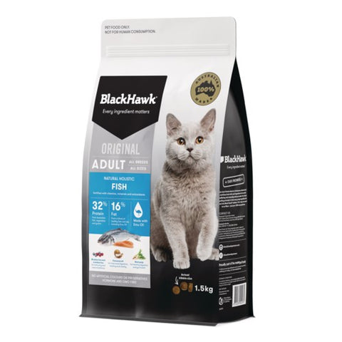 BH CAT FISH & RICE 1.5KG