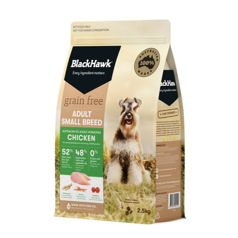 BH DOG SMALL BREED GRAIN FREE CHICKEN 2.5KG
