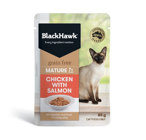 BH CAT MATURE FISH/SALMON 85G