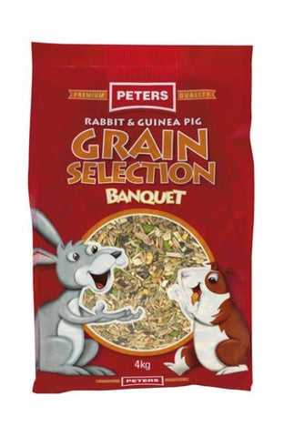 PETERS RABBIT/GP GRAIN SELECTION 4KG