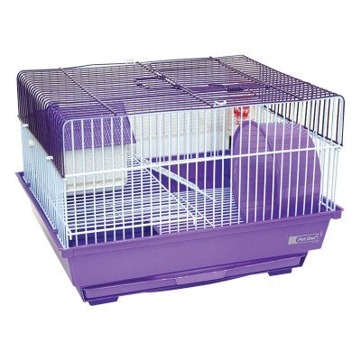 KONG MOUSE CAGE W WHEEL 34.5X28X24CM