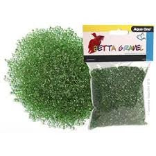 AO BETTA GRAVEL GLASS GREEN 350G