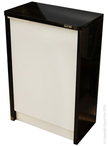 AQUA ONE LIFESTYLE 52 CABINET GLOSS BLACK 51X30X76CM