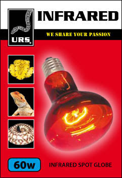 URS INFRARED HEAT SPOTLIGHT 60W