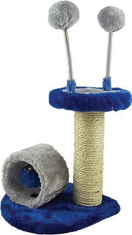 SCRATCH POST DESIGN 6 BLUE/GREY