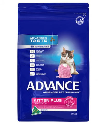 ADV KITTEN PLUS CHICKEN 3KG