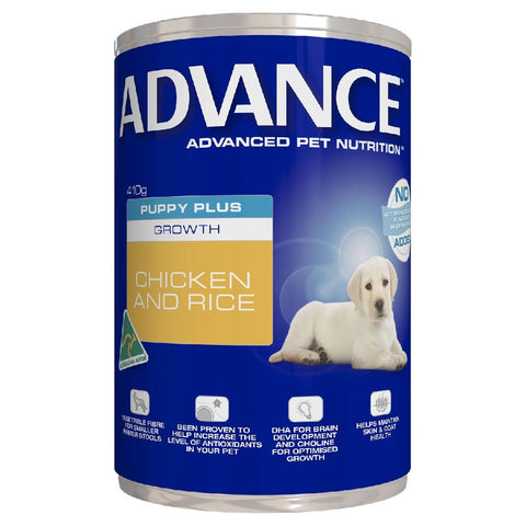 SLAB ADV PUPPY GROWTH CHICK & RICE 410G