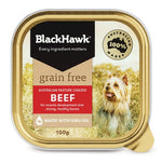 BH GRAIN/ FREE BEEF TRAY 100G