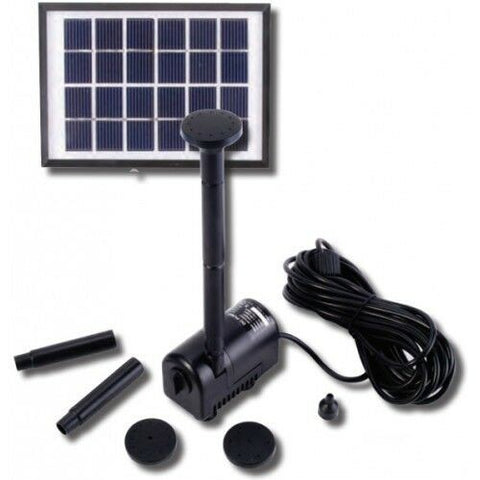 REEFE SOLAR PUMP & FOUNTAIN KIT W SOLAR PANEL 470LPH
