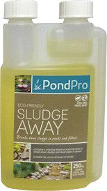 PONDPRO SLUDGE AWAY 250ML 4500L