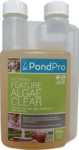 POND PRO ALGAE CLEAR 250ML 20-25 DOSES