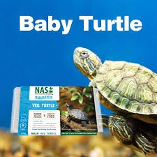 NATURAL ANIMAL SOLUTIONS BABY TURTLE FOOD 120G FROZEN