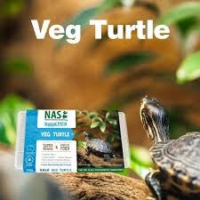 NATURAL ANIMAL SOLUTIONS VEG TURTLE FOOD 120G FROZEN