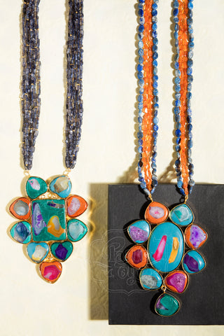 Color Punch Necklace