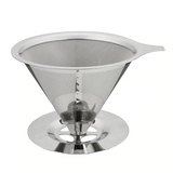 Double Layer Stainless Steel Coffee Filter