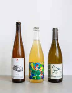 WHITE NATURAL WINE PACK / France, Germany, New Zealand / 3 Bottles