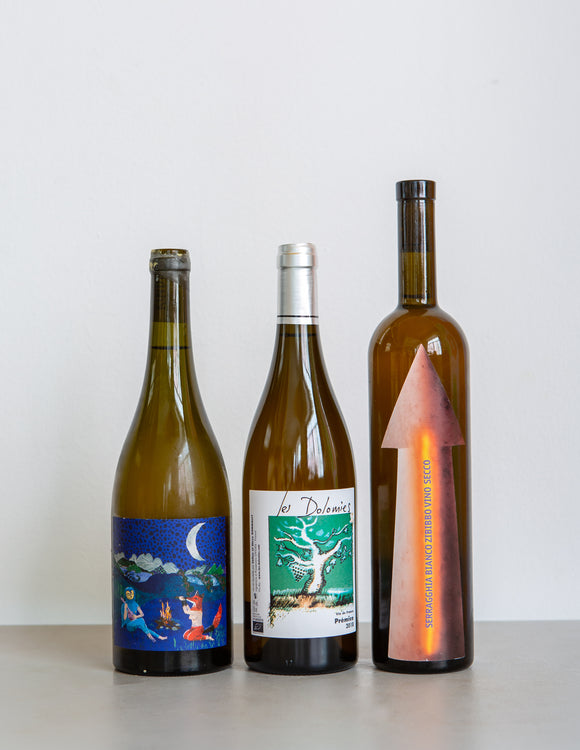 White & Orange Natural WINE PACK / The Finest / 3 Bottles