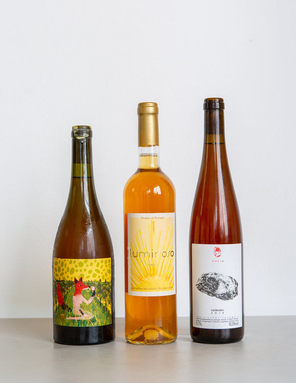 ORANGE NATURAL WINE PACK / Germany, New Zealand & Portugal / 3 Bottles