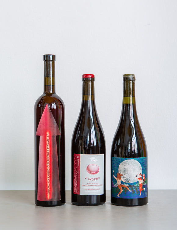 Red Natural WINE PACK / The Finest / 3 Bottles