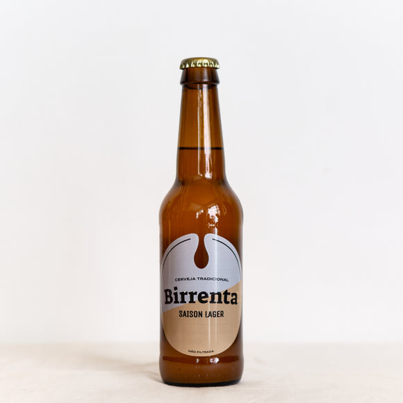 Cerveja Birrenta Saison 4.5 % Cerveja Birrenta saison, Brewed in Porto, saison lager unfiltered. Wine bar bottle shop ladidadiwines