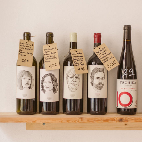 Monthly Natural Wine Subscription, 6 Bottles