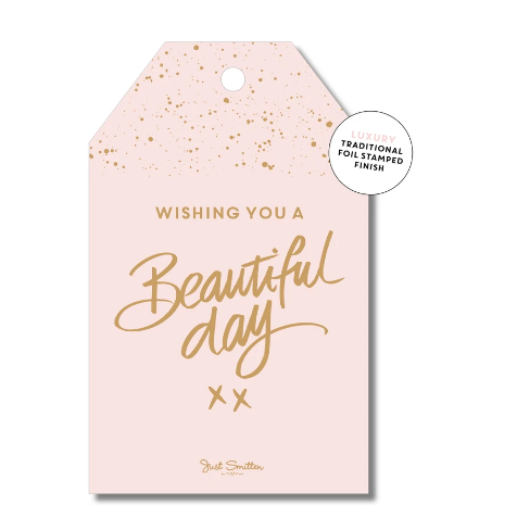 Beautiful Day Gift Tag