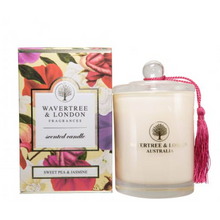 Load image into Gallery viewer, Sweet Pea & Jasmine Candle - Wavertree & London