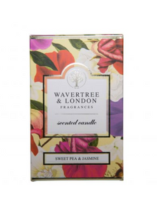 Sweet Pea & Jasmine Candle - Wavertree & London
