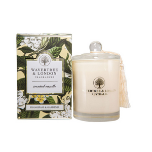 Frangipani & Gardenia Candle - Wavertree & London