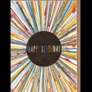 Oversized Card : Happy Birthday