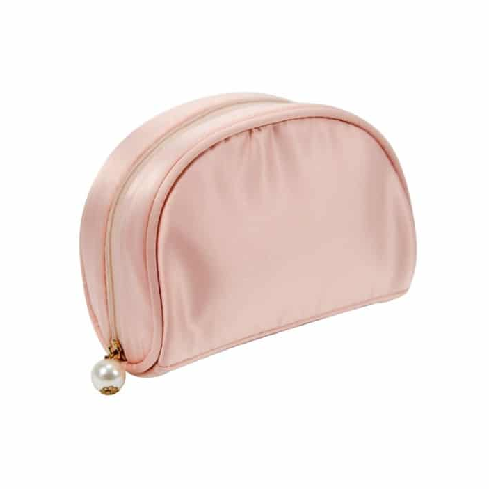 Satin Makeup Bag