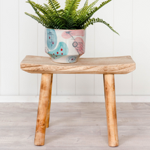 Load image into Gallery viewer, Timber Moki Stool - Natural