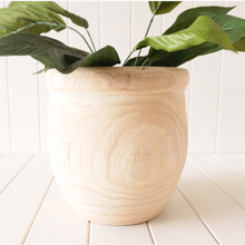 Load image into Gallery viewer, Timber Tarnati Planter - Natural Large