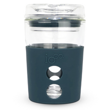 Load image into Gallery viewer, Glass Coffee Traveller 4oz Midnight Blue
