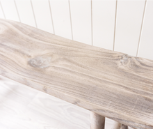 Load image into Gallery viewer, Timber Bench - White Wash