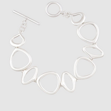 Load image into Gallery viewer, Odd Circle Fob Bracelet - Silver
