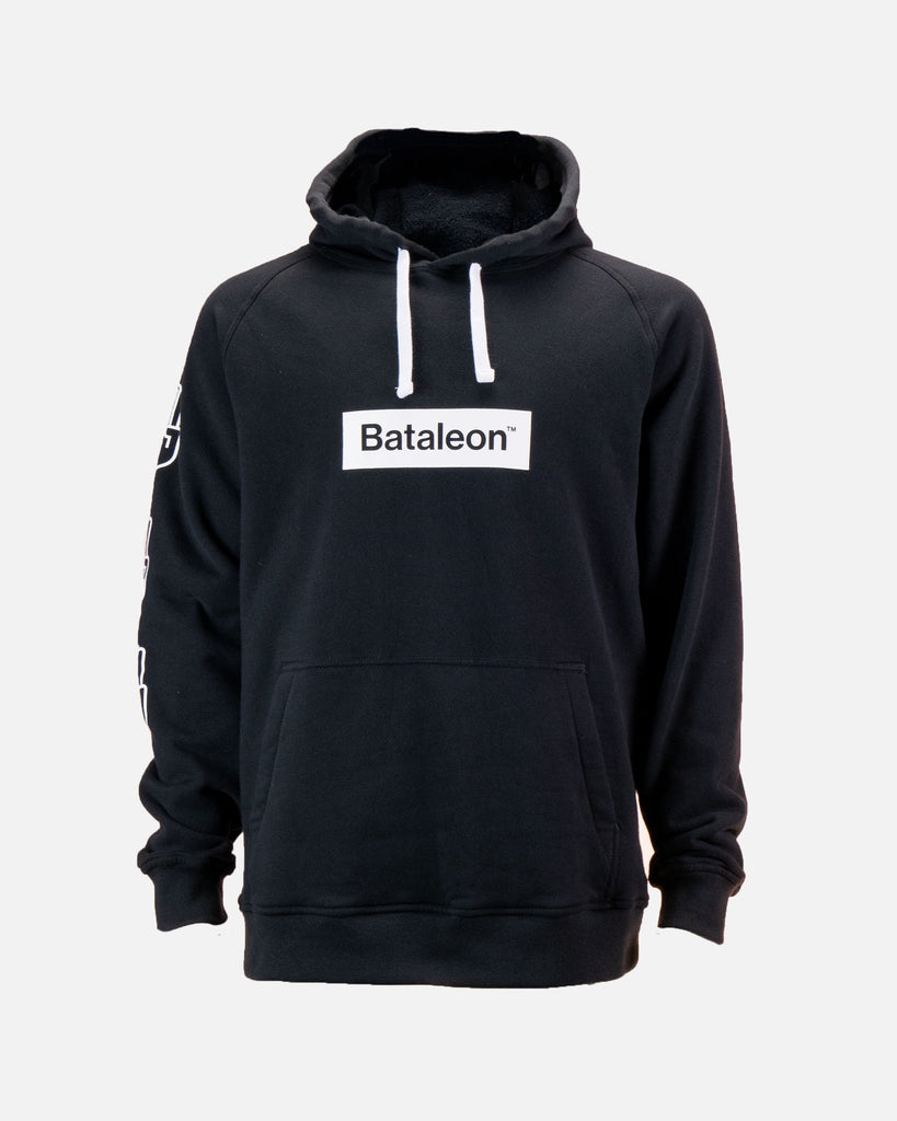 Bataleon Logo Hoodie Black Product image from the front by Bataleon Snowboards