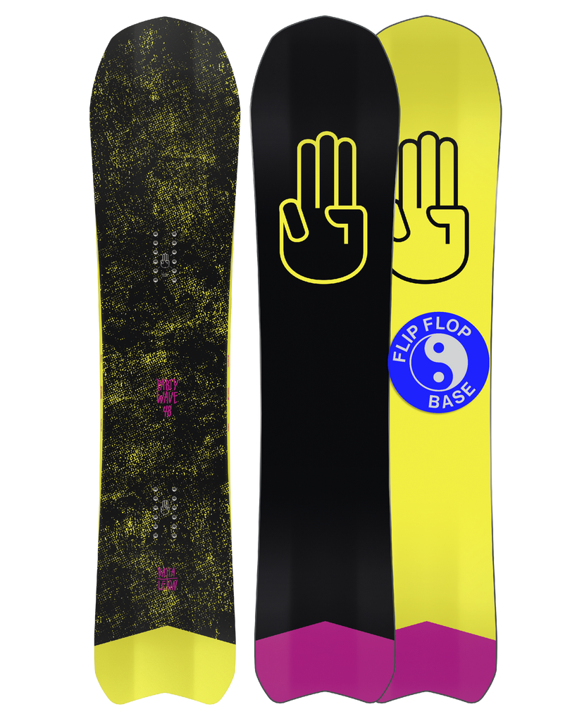 Bataleon Party Wave Snowboard 2020 - 2021 product image by Bataleon Snowboards 5