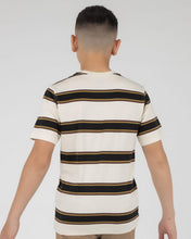 Load image into Gallery viewer, DA FINO STRIPE CREW S/S TEE