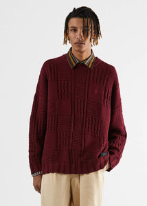BOONIE HEMP KNITTED CREW NECK