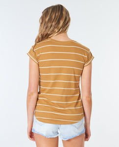 PLAINS ROLLED TEE