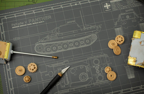 Scale Model Cutting Mats