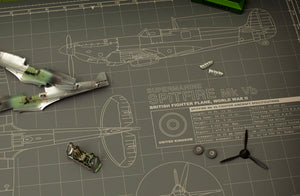 SPITFIRE MODEL BUILDER'S CUTTING MAT 18x24 - Tankraft