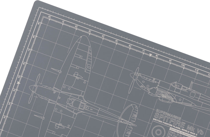 SPITFIRE MODEL BUILDER'S CUTTING MAT 12x18 - Tankraft