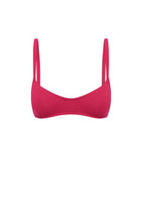 Fuchsia Piped Bralette